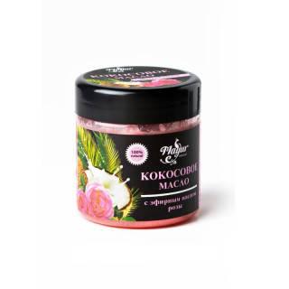Кокосовое масло с эфирным маслом розы TM Mayur 140 мл