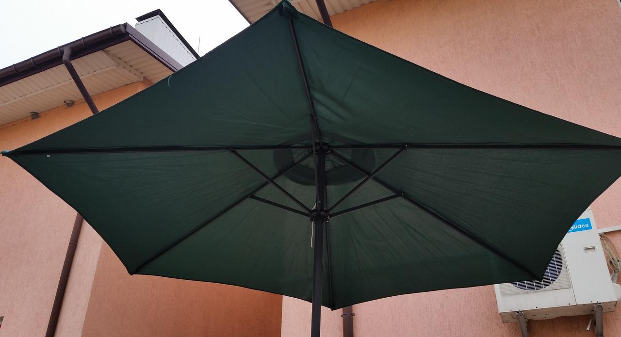 Зонт садовый торговый TWT Umbrella 127, 3 метра, с рукояткой