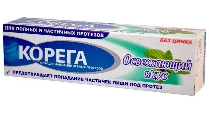 Крем Корега Освежающий вкус, 40 г