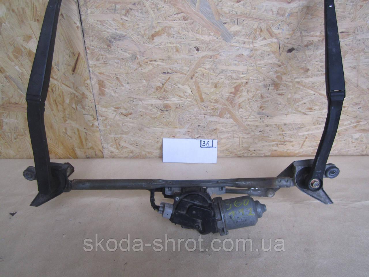 9E51-17566-AA Трапеция механизм моторчик стеклоочистителя Ford Fusion, 2010 г.