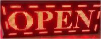 Вывеска светодиодная с бегущей строкой (L) 103 х (h) 40 см