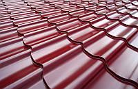 Металлочерепица КОРЕЯ ГЛЯНЕЦ 0,50 мм DongBu Steel, Zn 225 Монтеррей, Яспис, Ретро, Дюна, Афина