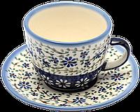 Чашка 0,2L с блюдцем Chamomile Sky, фото 1