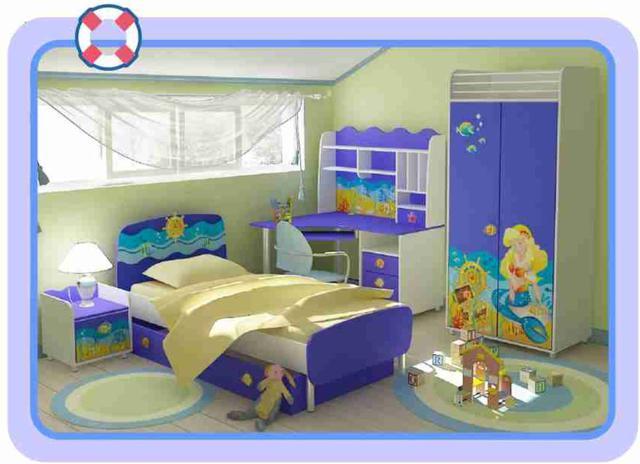 Детская комната Океан