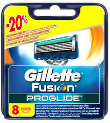 Картридж для бритья для бритья Gillette Fusion ProGlide 8 шт
