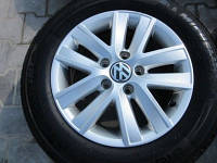 VW Caddy III колесные ДИСКИ АЛЮМИНИЕВЫЕ + ШИНЫ, литые диски 15