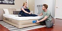 Велюровая надувная кровать Bestway 69032
