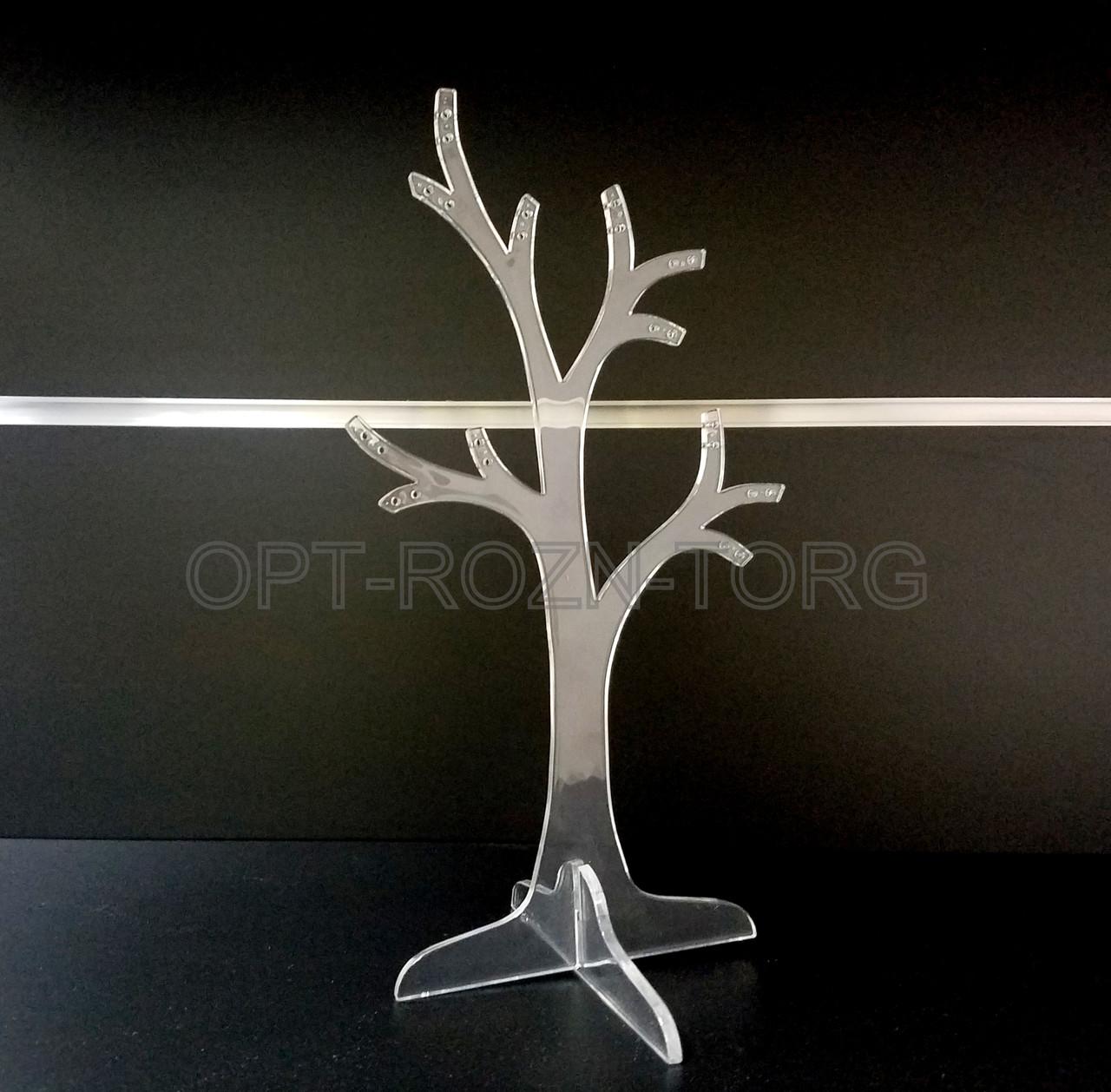"""Подставка под серьги """"дерево"""" 0,27 см."""