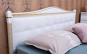 ✅ Дерев'яне ліжко Прованс М'яка спинка квадрати Олімп, фото 2