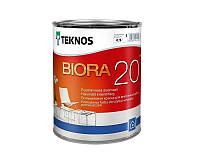 Краска акриловая TEKNOS BIORA 20 интерьерная 0,9 л