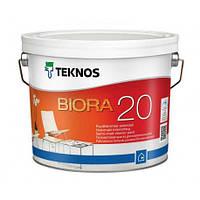 Краска акриловая TEKNOS BIORA 20 интерьерная 2,7 л
