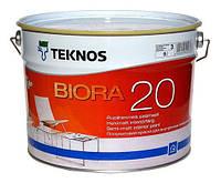 Краска акриловая TEKNOS BIORA 20 интерьерная 9 л