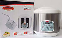 Мультиварка + фритюрница WIMPEX WX 5521, 900 ВТ, пароварка, рисоварка 10 программ