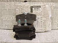 Задние тормозные колодки дисковые Рено Трафик Опель Виваро оригинал 7701054772