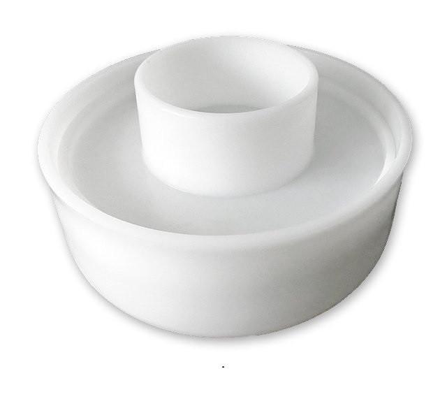 Форма для приготовления сыра с поршнем 1-2,5 кг