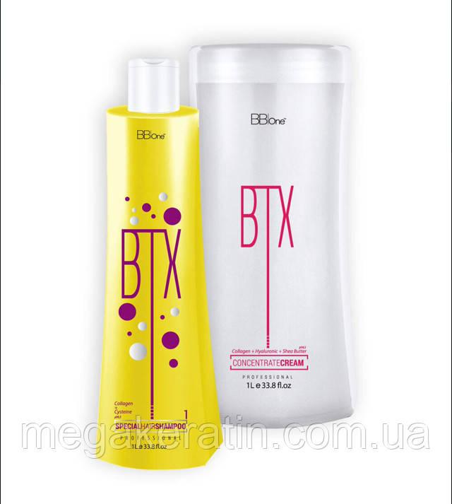 Набор Ботокс для волос BTX CONCENTRATE CREAM 2*1000 мл. BBone