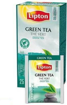 Чай Lipton Green Tea в индивидуальной упаковке Зеленый 25 пакетиков