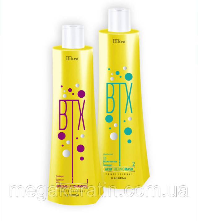Набор Ботокс для волос BTX ACID 2*1000 мл. BBone