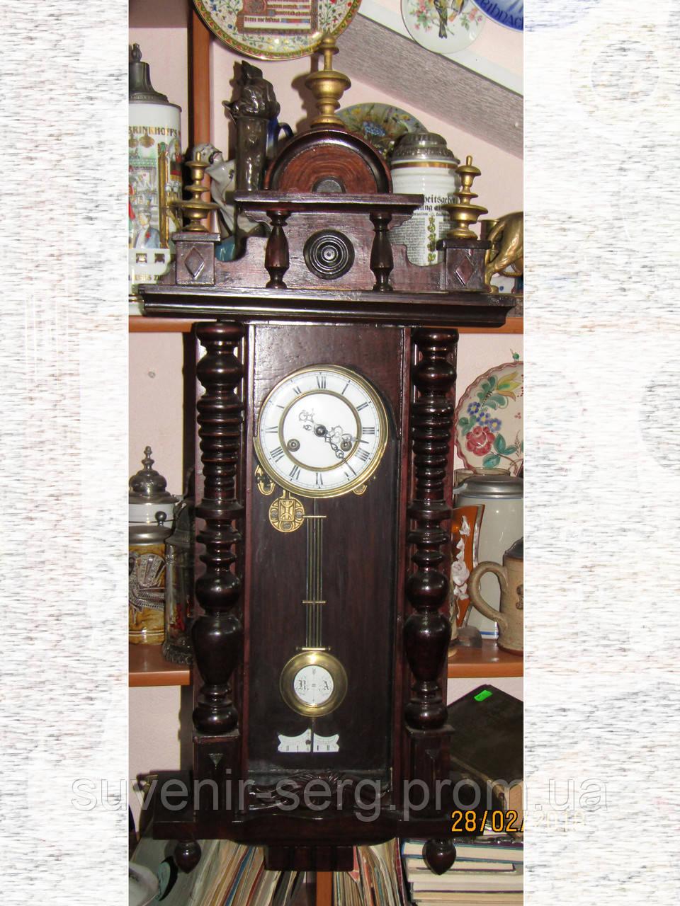 d2f469bf86699 Старинные настенные часы фирмы F.M.S. - Friedrich Mauthe Германия -  Интернет-магазин Сувенир в Белой