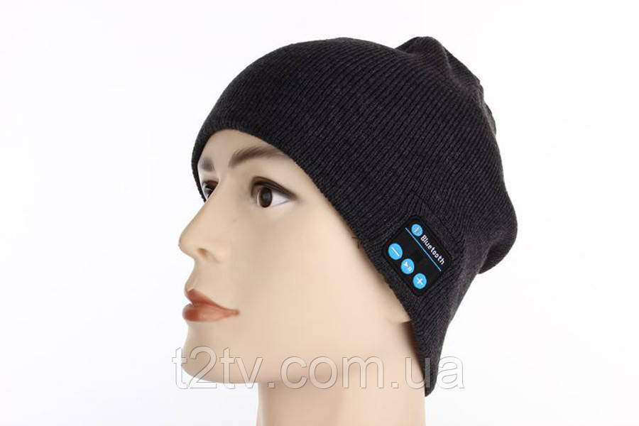 Шапка с bluetooth наушниками SPS Hat BT Black