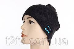 Шапка с bluetooth наушниками SPS Hat BT Black
