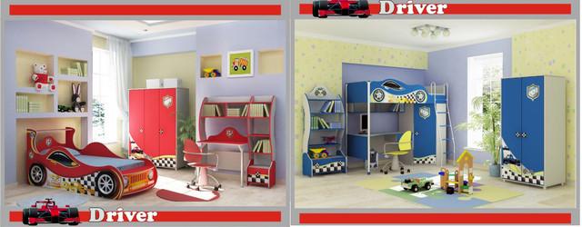 Детская комната Драйвер (ассортимент)