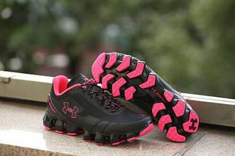 Кроссовки Under Armour Scorpio 8623019-208 37 Черные с розовым (8623019-208)