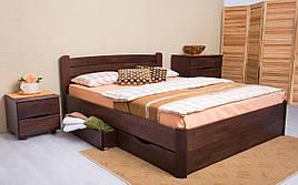 ✅ Деревянная кровать София V с ящиками Олимп
