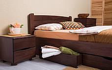 ✅ Деревянная кровать София V с ящиками 120х190 см ТМ Аурель (Олимп), фото 3