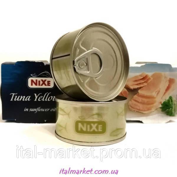 Тунец в масле Tuna Yellowfin in sunflower oil 80 г