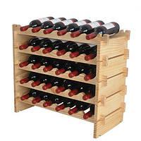 Огромная подставка для винных бутылок