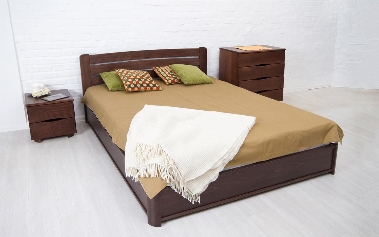 ✅ Деревянная кровать София Люкс с механизмом 120х190 см ТМ Аурель (Олимп)