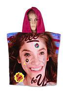 Полотенце-пончо детские оптом, Disney,  55*110 см