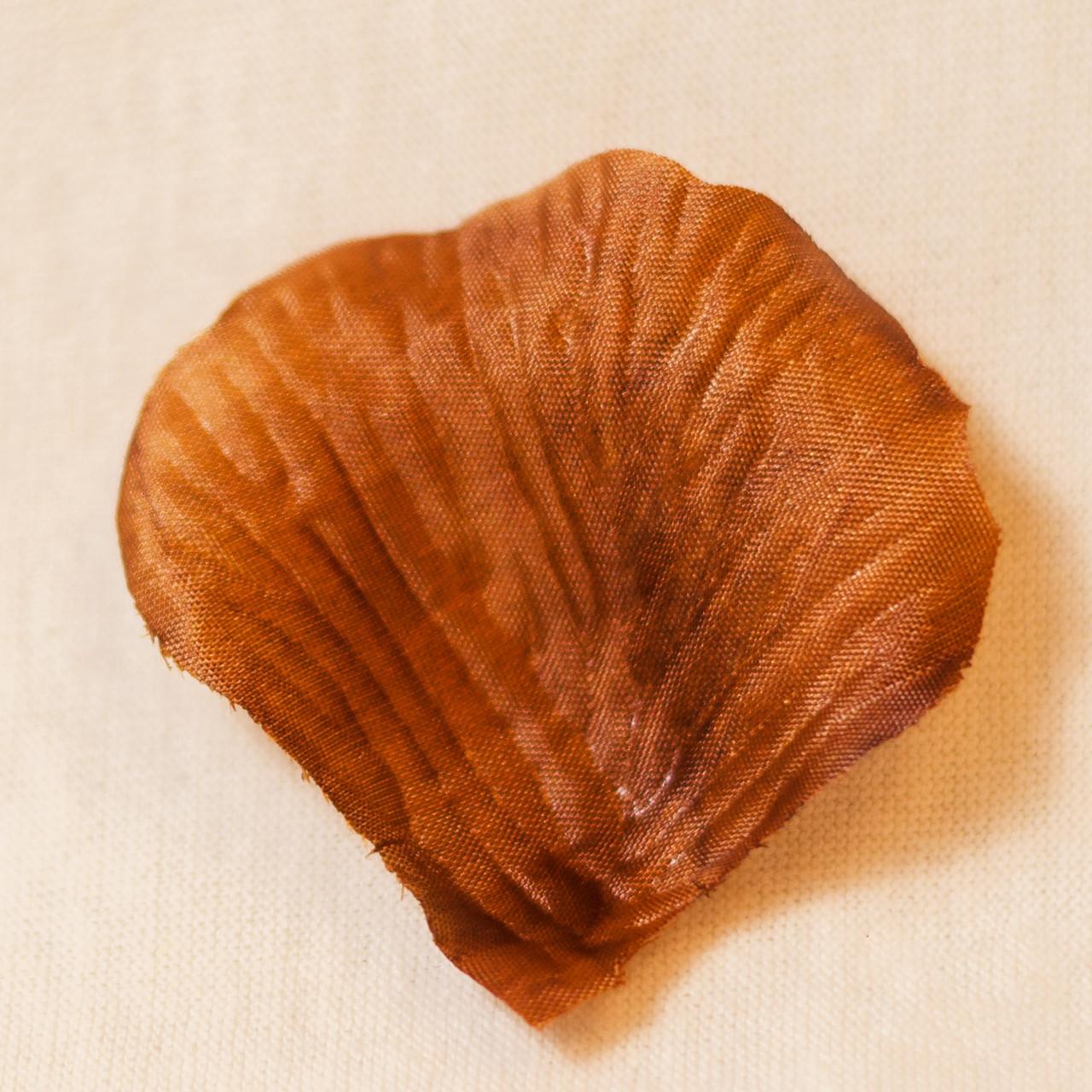 Искусственные лепестки роз (коричневый) №14