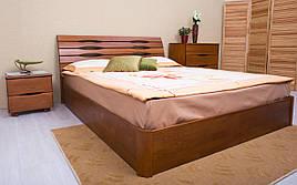 ✅ Дерев'яне ліжко Маріта V з механізмом 120х190 см ТМ Аурель (Олімп)