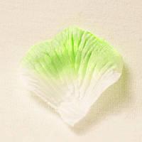 Искусственные лепестки роз (бело-зеленый) №26