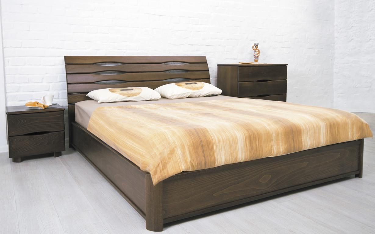 ✅ Деревянная кровать Марита N с механизмом 120х190 см ТМ Аурель (Олимп)