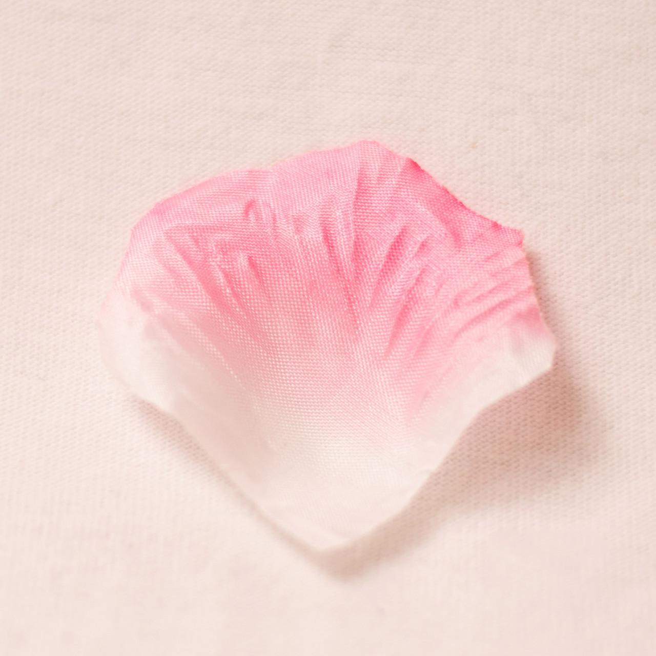 Искусственные лепестки роз (бело-розовый) №23