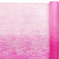 Флизелин #52 розовая+ярко-розовая (50 см х 10 м)