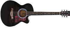 Акустическая гитара MAXTONE WGC400 (TBK)