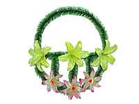 Корзинка лілія 6 квітів ТМЗАПАДНАЯ