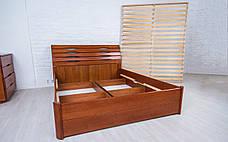 ✅ Деревянная кровать Марита Люкс с ящиками Олимп, фото 3