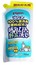 Средство для мытья детской посуды и овощей Pigeon, сменный блок 700 мл