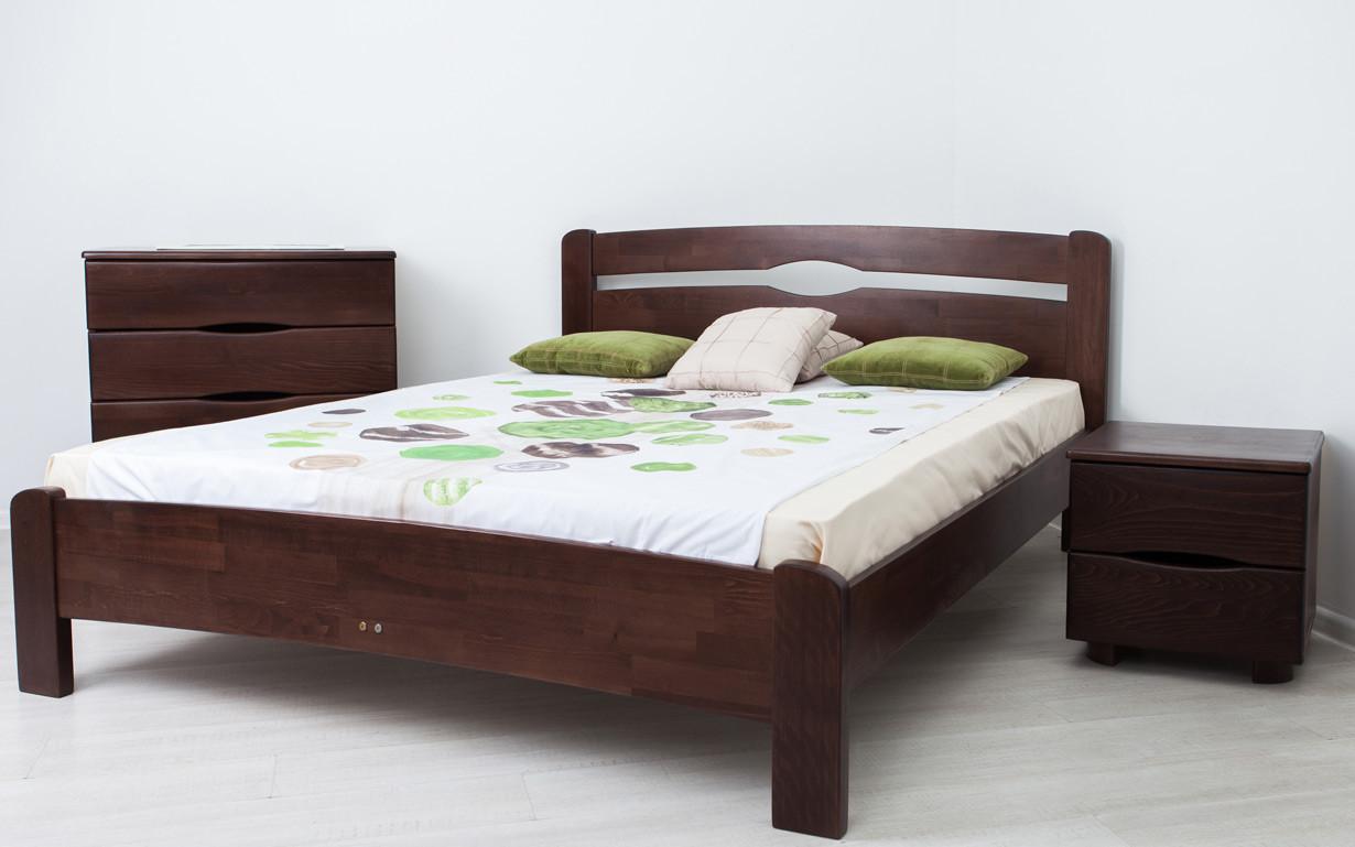 ✅ Дерев'яне ліжко Нова без ізножья 80х190 см ТМ Аурель (Олімп)