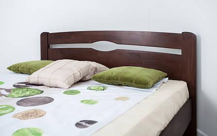 ✅ Дерев'яне ліжко Нова без ізножья 80х190 см ТМ Аурель (Олімп), фото 2