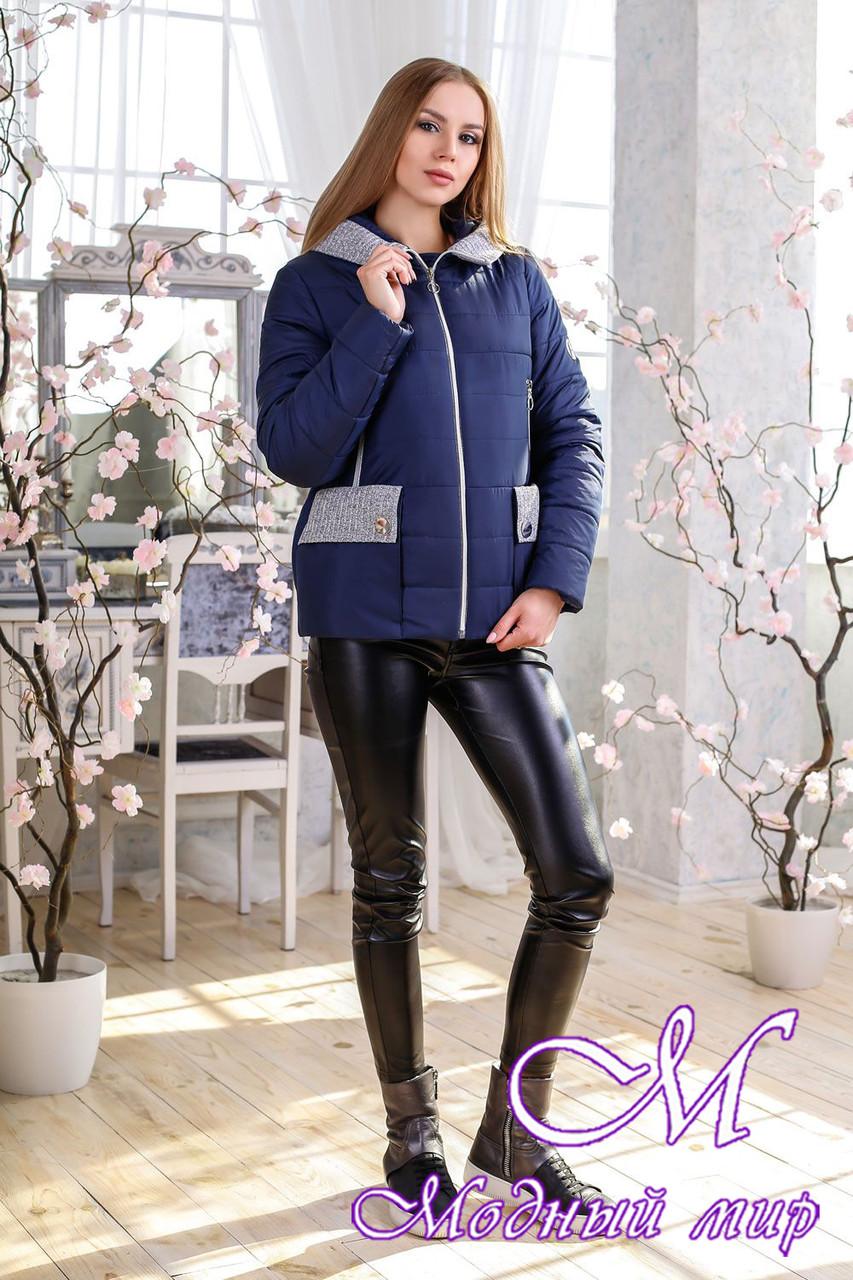82fcec76 Женская стильная куртка весна-осень (р. 44-56) арт. 1111 Тон 18 ...
