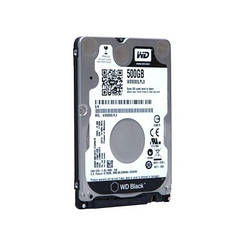 Жорсткий диск для ноутбука 2.5\ 500GB WD (WD5000LPLX)
