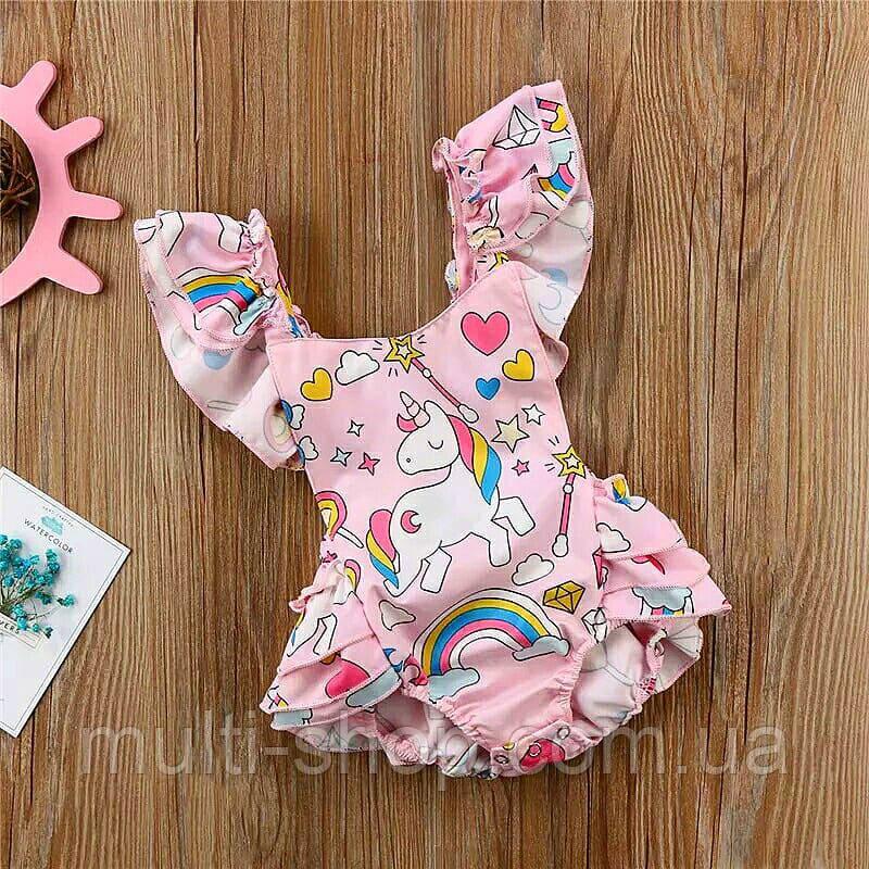 Песочник для девочки Радужный единорожек, фото 1