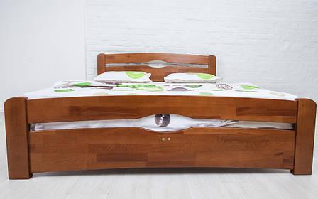 ✅ Деревянная кровать Нова с изножьем 80х190 см ТМ Аурель (Олимп), фото 2