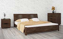 ✅ Дерев'яне ліжко Маріта S 120х190 см ТМ Аурель (Олімп)